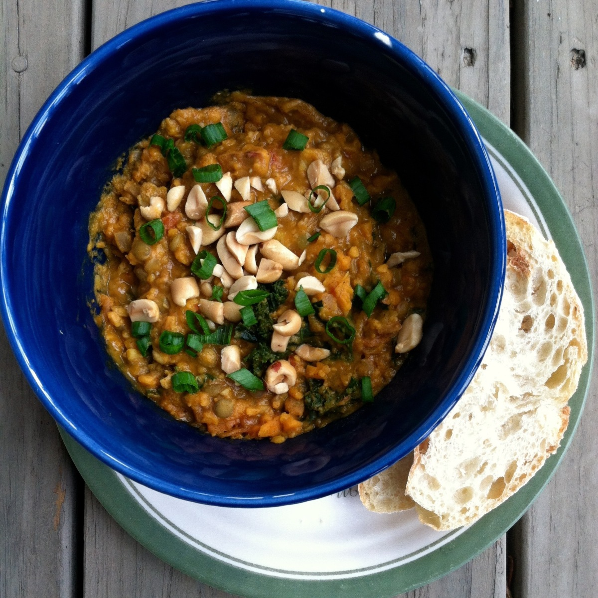 Sweet Potato & Peanut Stew