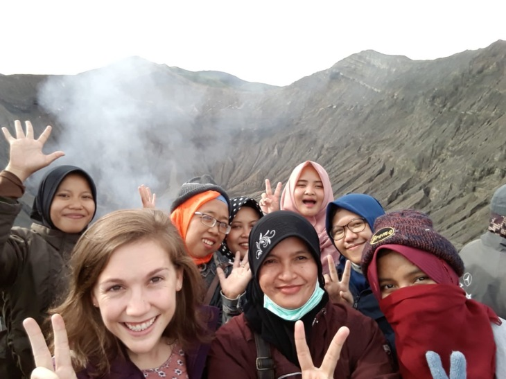 Group photo bromo