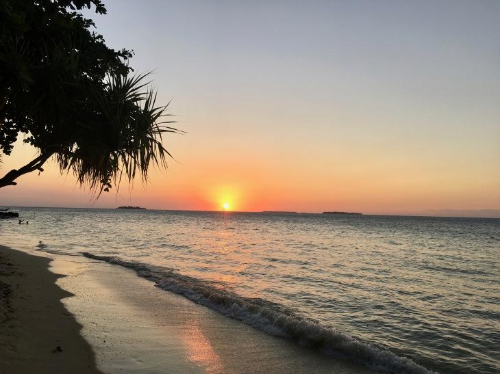 Karimunjawa sunset beach